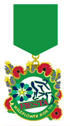 Fiesta Wildflower Medal